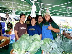 Saturday Farmers' Market at Kapiolani Community College