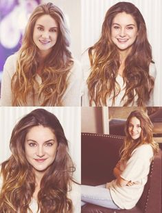 Shailene has beautiful hair