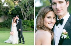 Romantic Real Wedding in Santa Barbara | OneWed