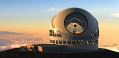 Construction of worlds largest optical telescope approved  The massive Thirty Meter Telescope will be able to image objects 13 billion light years away, near the beginning of time.