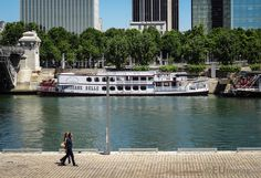 The Louisiane Belle is the largest traditional paddle boat that operates on the River Seine which is available for use in private events by the company Bateaux de Paris.  More photos to be seen at www.eutouring.com/the_river_seine_in_paris.html