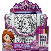 Sofia the First Color N Style Purse Activity Kit