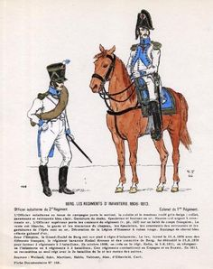 Berg Infantry Officers 1806-13 Poland History, Empire, Napoleonic Wars, Prussia, Reno, 19th Century, Poland, Military, Army