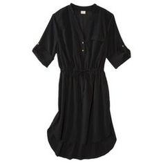 Merona® Women's Plus-Size 3/4-Sleeve Dress - Black