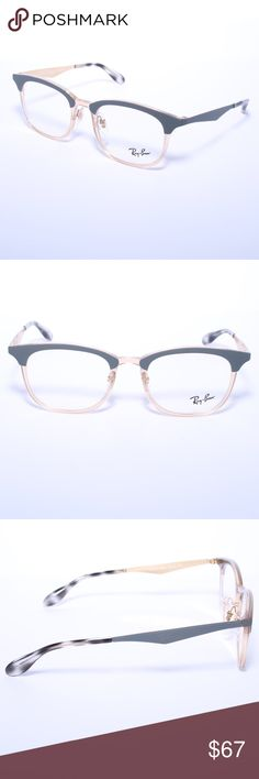 83f960c1b0 Ray Ban RB 7112 5686 Matte Grey Light Brown Ray Ban RB 7112 5686 Matte  Grey Light Brown RX Eyeglasses Brand new authentic Comes with Generic Case