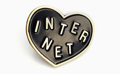 Net Neutrality Pin, Made by Tumblr