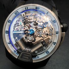 HYT Watches Fluid mechanics meets haute Horlogerie in the Swiss company's innovative architectural masterpieces. #mens #Watches