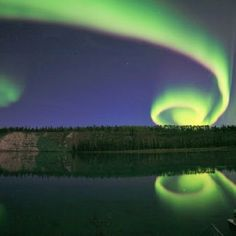 Northern Canada Aurora photo by David Cartier