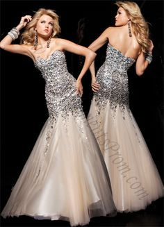 Bling Out Bridal Dresses   Paris 113720 Gold Prom Dress
