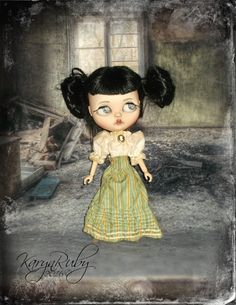 Blythe  1900s Victorian Style  2 Piece Outfit By by KarynRuby