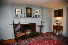 Sitting room from house in Sandwich,Massachusetts