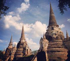 #WatPhraSiSamphet #Ayutthaya #Thailand
