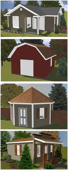 16x24 lean to shed plansperfect to build onto a house and turn into