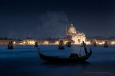 """Chrismas night in Venice"" by Daniel Metz"