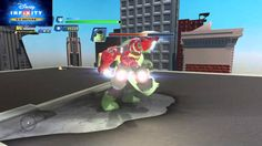 Disney Infinity 3.0 Hulkbuster vs Hulk Boss Fight Extreme Level