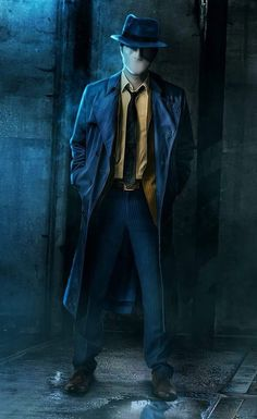 I'm The Phantom Stranger. That's all you'll know. That's all you'll ever know for now. I only come in events of great magnitude and people are in great need. It's seems, something is brewing.