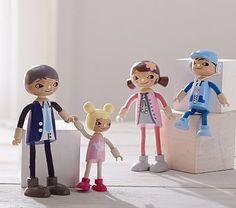 Dollhouse Moore Family #pbkids