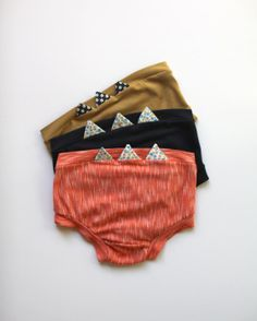 Zig Zag Underwear Set Of 3 by WolfIndustries on Etsy #wolfindustries