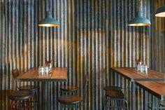 Interior design | decoration | restaurant design | Londres / Restaurant Barnyard / https://www.facebook.com/leloftinteriordecoration/