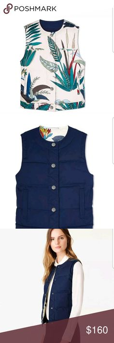 Tory Burch piper reversible puff vest sz4, $400+ Brand new with tags. Tory Burch Jackets & Coats Vests