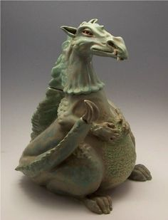 Dragon Teapot by MaidOfClay