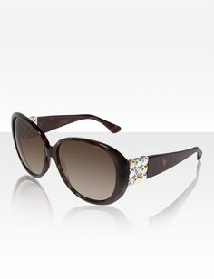 Chiclet Sunglasses, Tortoise