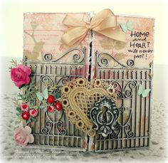 "Love lives Here {A ""real"" gate card}, MelissaB"