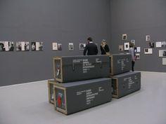 Pierre Leguillon features Diane Arbus: A Printed Retrospective, 1960 – 1971 Exhibition view: Moderne Museet, Malmö, Sweden, 2010