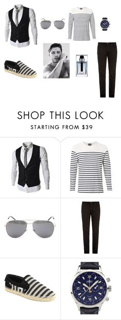 """""""Martin's style"""" by ustine on Polyvore featuring Witchery, Yves Saint Laurent, Acne Studios, Jimmy Choo, Balmer, Christian Dior, men's fashion i menswear"""
