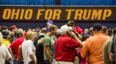 Mitin de Trump en Ohio.
