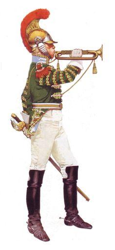 Clarín del 1° de carabineros (1815).