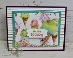 Fun Fold Cards, Folded Cards, Happy Birthday Chris, Project Place, Sympathy Cards, Greeting Cards, Green Mat, Specialty Paper, Stamping Up Cards