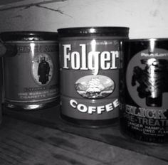 Grandpas old cans
