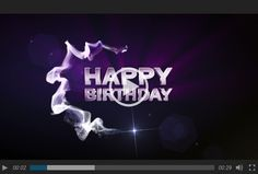 Happy Birhtday-Video als kleines Geburtstagsgeschenk