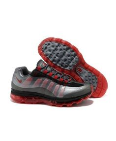 low priced b59cd 7269e Nike Air Max 95 BB Mens Running Shoes Dark Grey Silver Varsity Red on sale