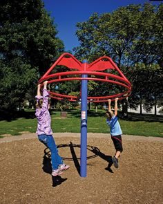 Maypole 2987 Miracle Recreation out of Missouri Playground Accessories, Outdoor Play Equipment, Commercial Playground Equipment, Swing And Slide, Shade Structure, Outdoor Decor, Playgrounds, Swings, Missouri