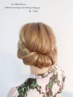 夏季婚禮髮型特輯。長髮變短髮♥♥三分鐘完成希臘女神髮型