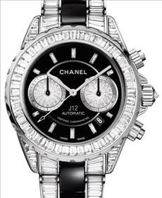 Chanel J12 Haute Joaillerie Chronograph