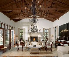 Living room by designer Mariette Himes-Gomez.