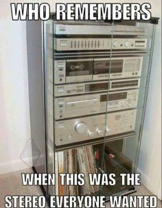 so much easier than now and such great sound