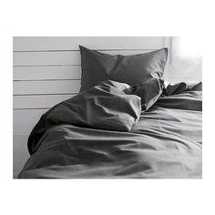 GÄSPA Påslakan 1 örngott IKEA Satinvävd bomull; ger sängkläder extra len yta och lyster.