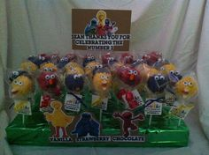 Sean's 2nd Birthday  Cakepops made with L♥VE by your ladies from ArtSy! #cakepops #sweets #artsycc
