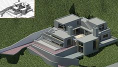Modelo de Casa Altazor Arq. Rogelio Salmona 2002-2004 Bogotá