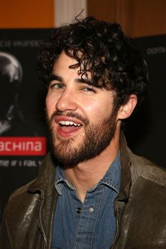 @Darren Criss at the 'Ex Machina' New York premiere on April 6, 2015.