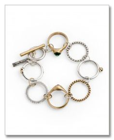 A great idea on how to repurpose things I do not wear...like that class ring.