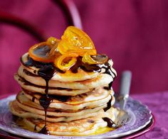 St clements breakfast pancakes pancakes brunch and recipes julie goodwins jaffa pancakes ccuart Choice Image