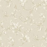 Found it at Wayfair - Royal Cottage Feathery Flumes Scroll Wallpaper