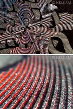 Metallic Kissed High Density - Thin High Density rings with Metallic ink. With movement, ripples of color can be seen.
