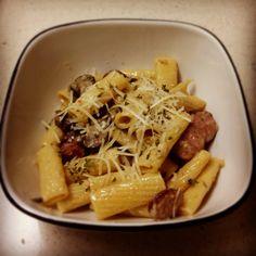 Sausage & Mushroom Rigatoni!!