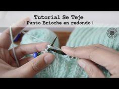 Cómo tejer punto Brioche en redondo   Tutorial Se Teje   - YouTube Silver Rings, Diy, Youtube, Knits, How To Knit, Tutorials, Dots, Brioche, Bricolage